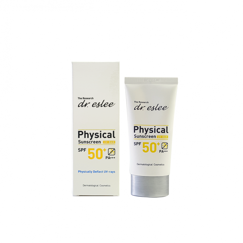 dr.eslee Physical Sunscreen SPF 50+ PA+++ 60 gm