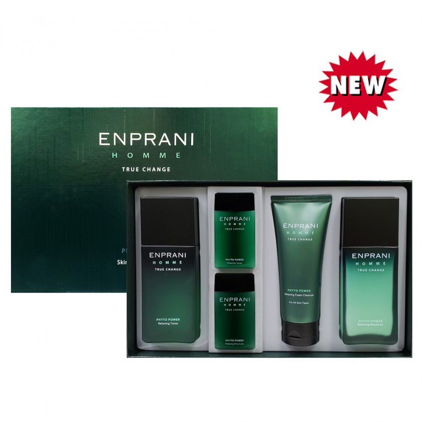 ENPRANI Homme Phyto Power Skin Care 3pcs Set
