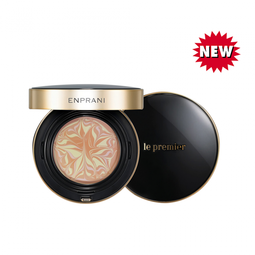 Enprani Le Premier Essence Drop Cover Pact - # No.21 Light Beige