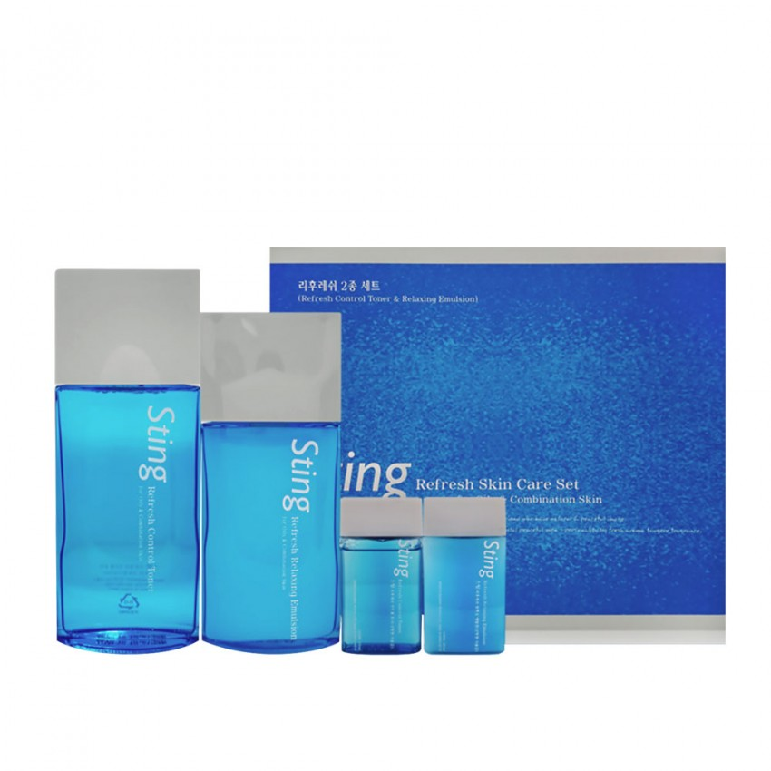 Enprani For Men Sting Refresh Skin Care 2pc Set