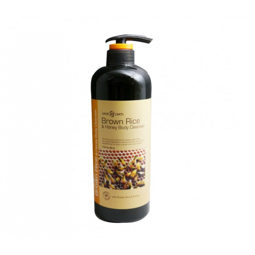 Hyssop Organic Brown Rice & Honey Body Cleanser 28.15fl.oz/800ml
