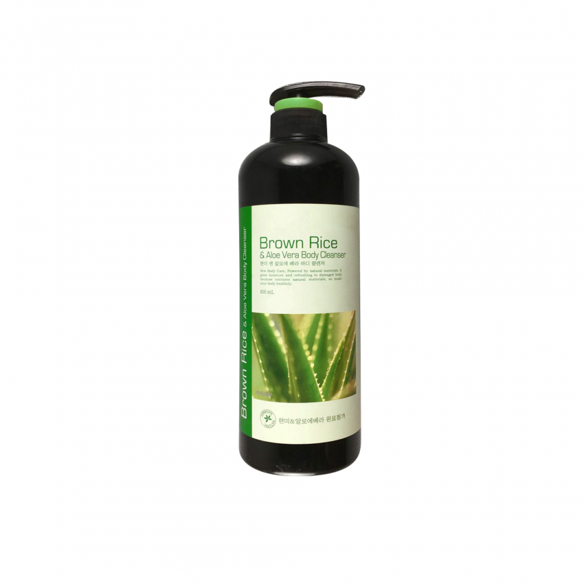 Hyssop Brown Rice & Aloe Vera Body Cleanser 27fl.oz/800ml