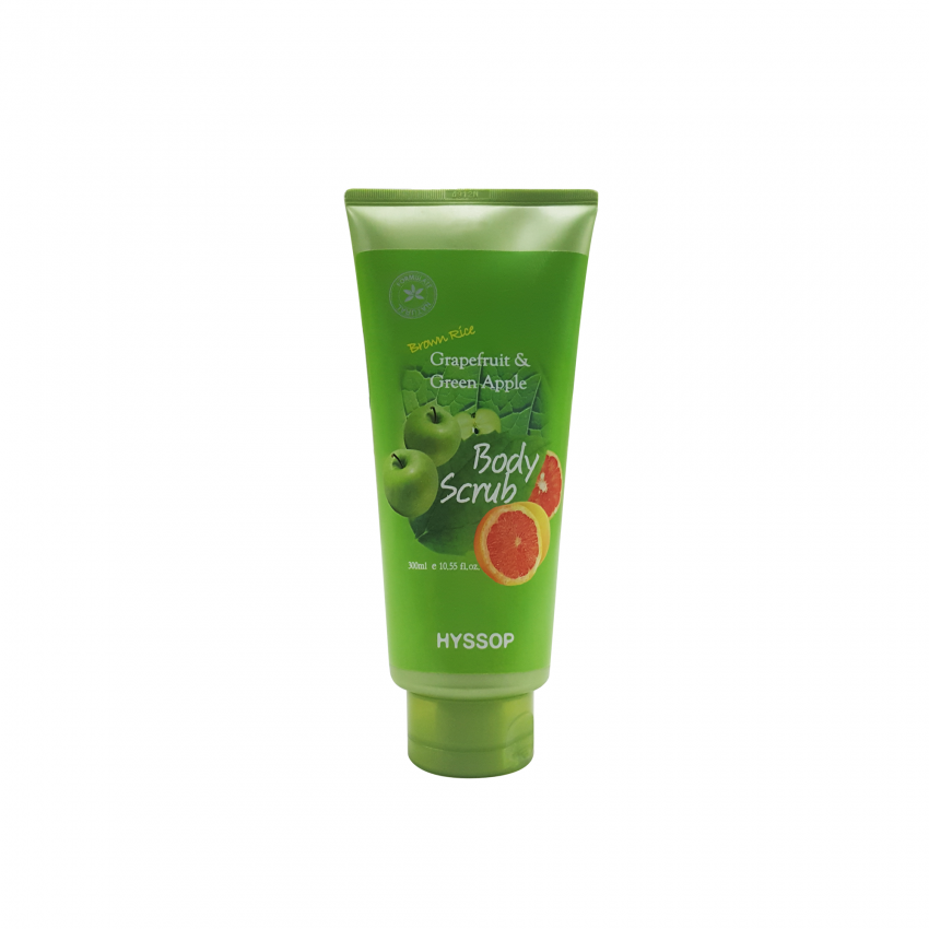 Hyssop Grapefruit & Green Apple Body Scrub 10.55fl.oz/300ml