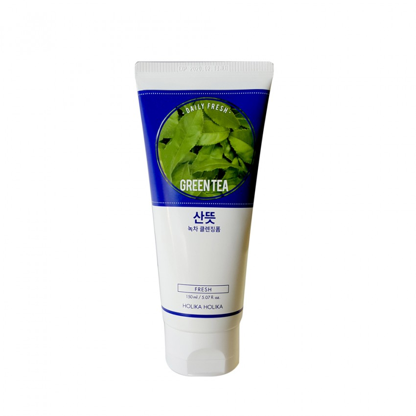 Holika Holika Daily Fresh Green Tea Cleansing Foam - 150ml