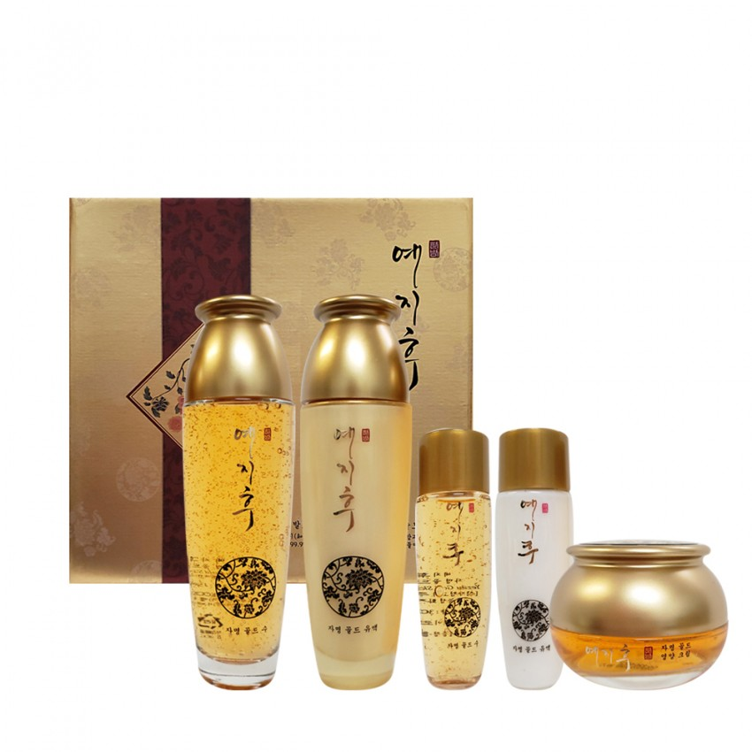 LK Yezihu Gold Skin Care 3Pcs Set