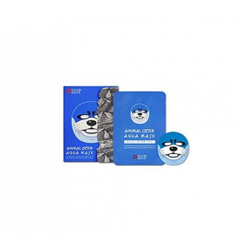 SNP Animal Otter Mask (10 Sheets)