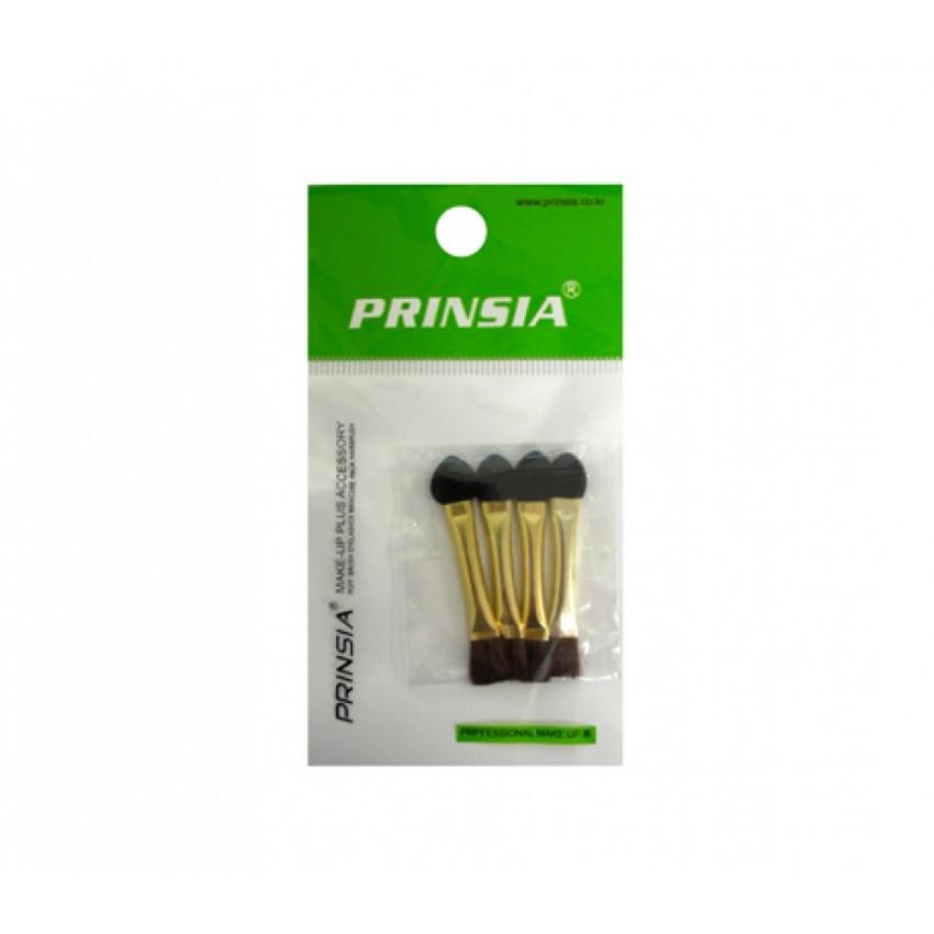 Prinsia Eyeshadow Sponge and Brush Tip Applicator (4pcs)/12pack