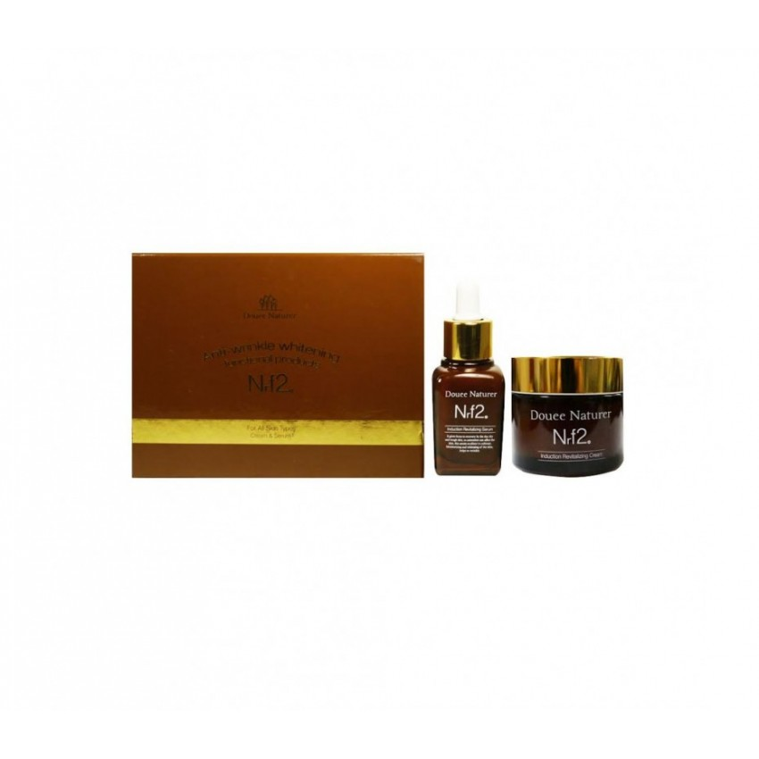 Rainbow Beauty Douee Naturer Induction Revitalizing Serum & Cream set