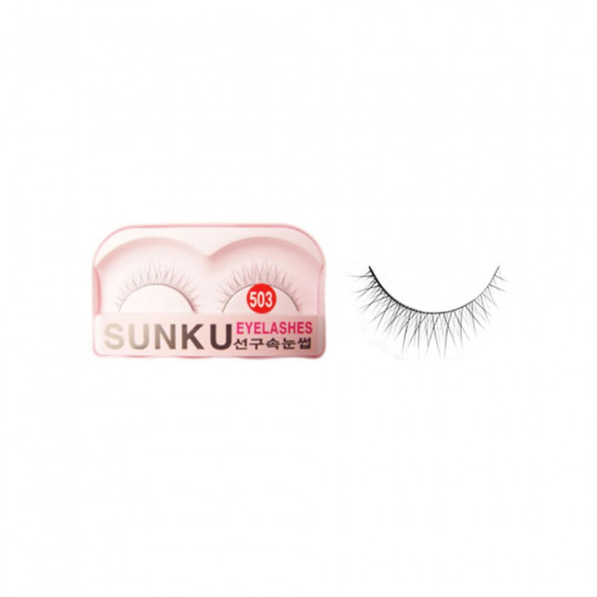 Sunku Eyelash with Glue (503) x Minimum 10 Pcs