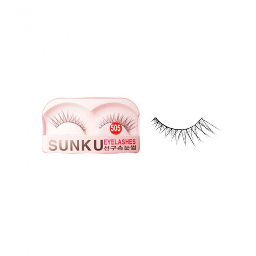 Sunku Eyelash with Glue (505) x Minimum 10 Pcss