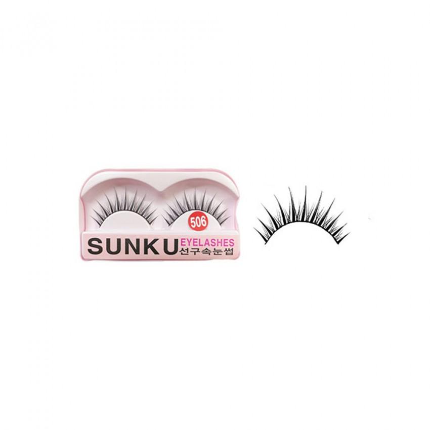 Sunku Eyelash with Glue (506) x Minimum 10 Pcs