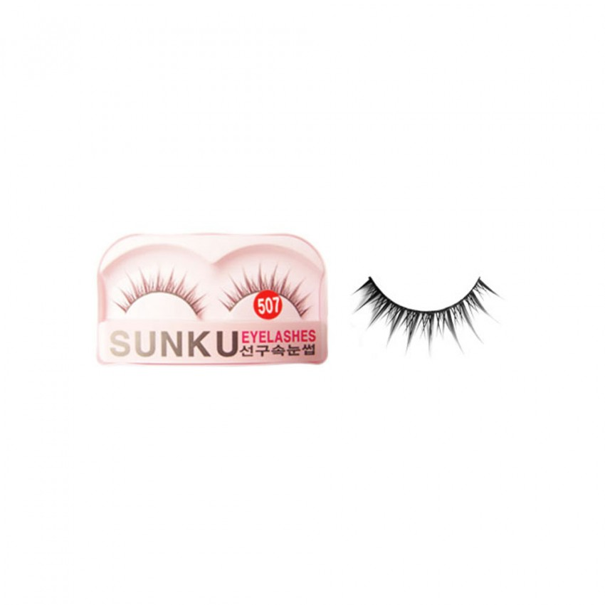 Sunku Eyelash with Glue (507) x Minimum 10 Pcs