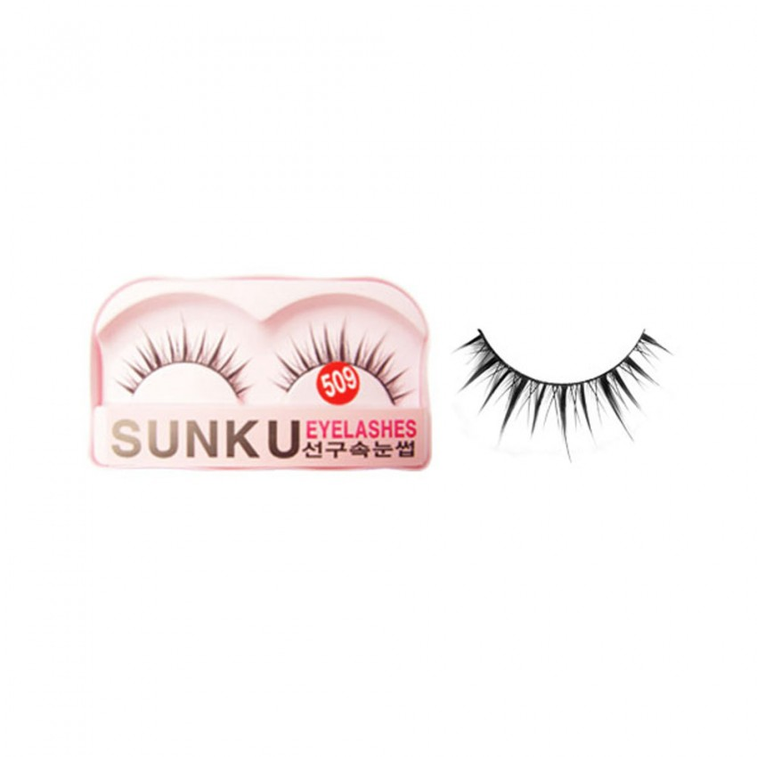 Sunku Eyelash with Glue (509) x Minimum 10 Pcs
