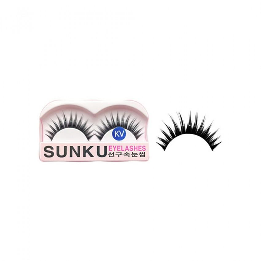 Sunku Eyelash with Glue (KV)x Minimum 10 Pcs