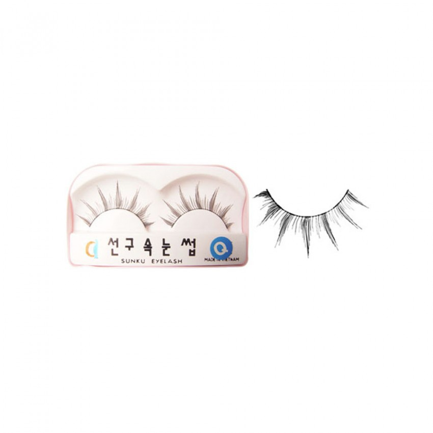 Sunku Eyelash with Glue (Q) x Minimum 10 Pcs