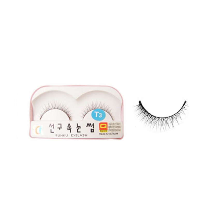 Sunku Eyelash with Glue (T3) x Minimum 10 Pcs