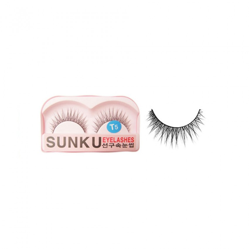 Sunku Eyelash with Glue (T5) x Minimum 10 Pcs