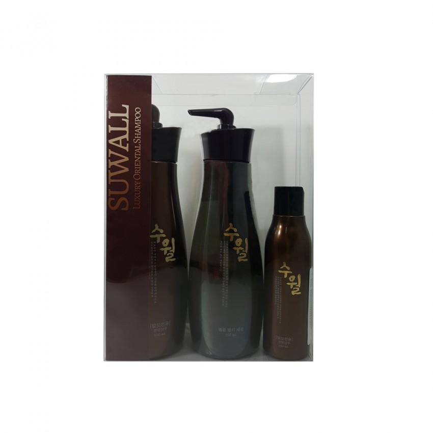 Suwall Luxury Shampoo and Hair Serum Set