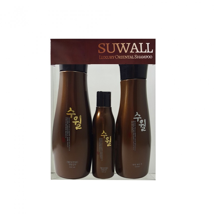 Suwall Luxury Shampoo and Hair Pack Set